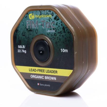 Лидкор Ridge Monkey RM-Tec Lead Free Leader Organic Brown
