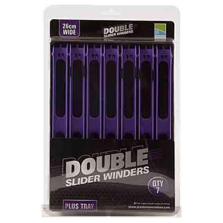 Мотовило PRESTON Double Slider Winders Wide Purple