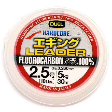Флюрокарбон Duel Hardcore Leader 30m