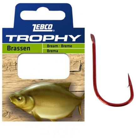 Поводки ZEBCO Trophy Hooks to Nylon Bream