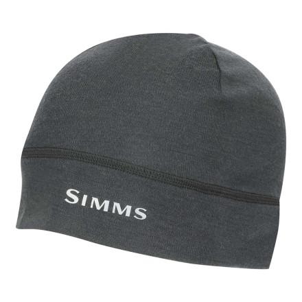 Шапка Simms Lightweight Wool Liner Beanie Carbon