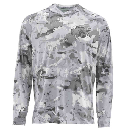 Блуза Simms SolarFlex Hoody Cloud Print Camo Grey