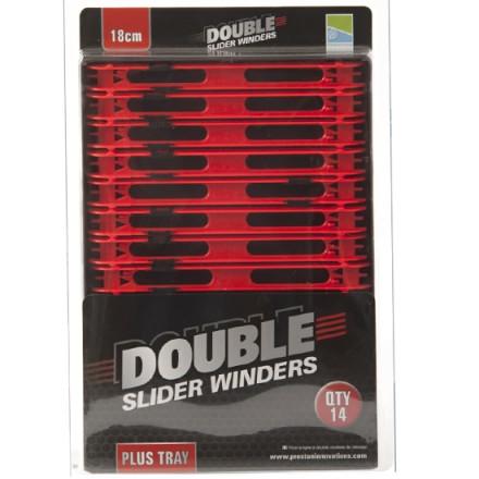 Мотовило PRESTON Double Slider Winders Wide in a Tray