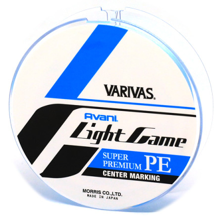 Шнур VARIVAS Light Game PE X4 Centermarking 150M