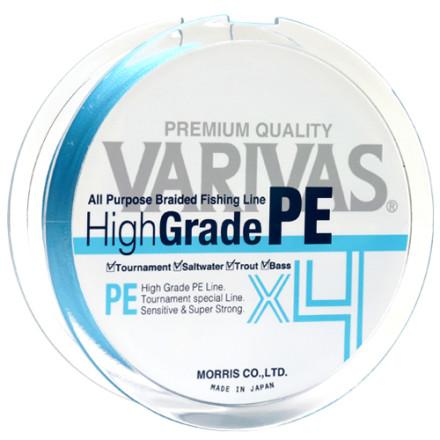 Шнур VARIVAS High Grade PE X4, Water Blue,150m