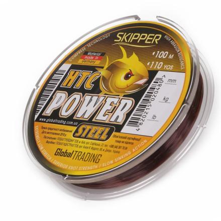 Леска G.Stream HTC Power Steel 100m brown Skipper