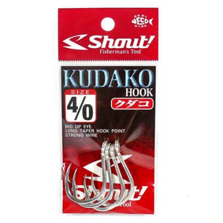 Крючек для пилькера SHOUT Kudako 04-KH
