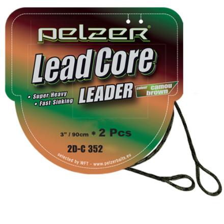 Лидкор PELZER Lead Core Gravel Green