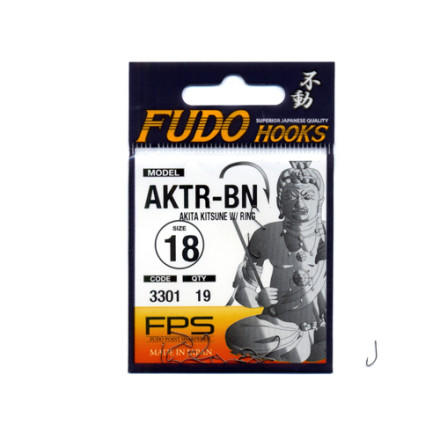 Крючки Fudo Akita Kitsune W/Ring