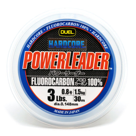 Флюрокарбон Duel Hardcore Power Leader 30m