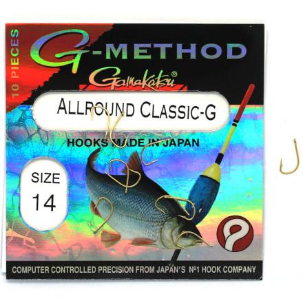 Крючки GAMAKATSU G-Mathod Allround Classic