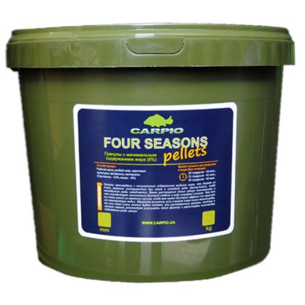 Пеллетс CARPIO Four Seasons 3 кг