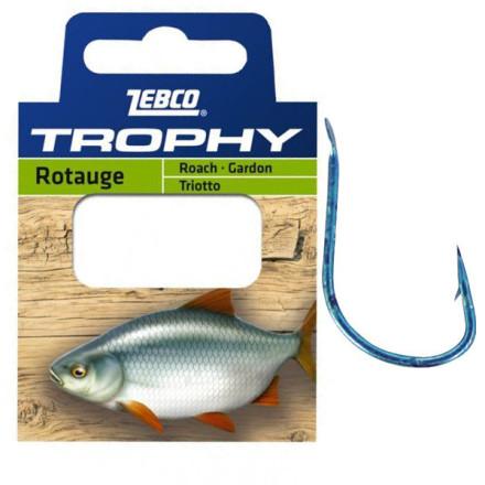 Поводки ZEBCO Trophy Hooks to Nylon Roach
