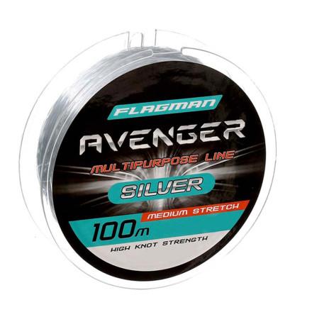 Леска Avenger Silver 100m