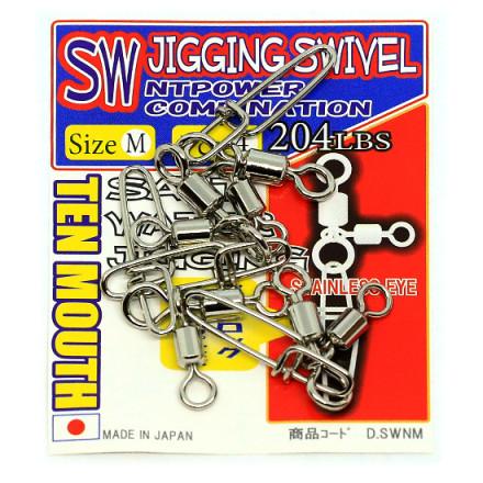 Вертлюг NT SWIVEL  SW Jigging Swivel