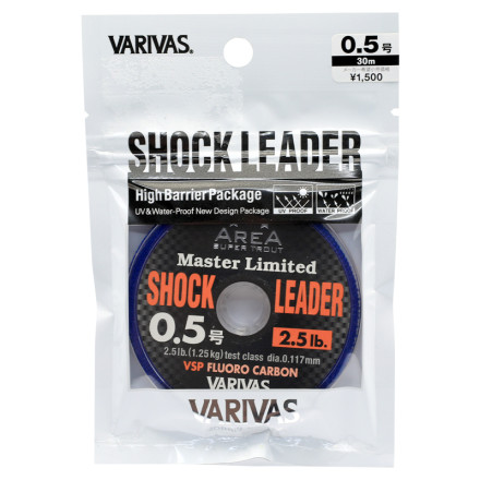 Флюорокарбон VARIVAS Trout Area MLD Shock Leader VSP Fluoro